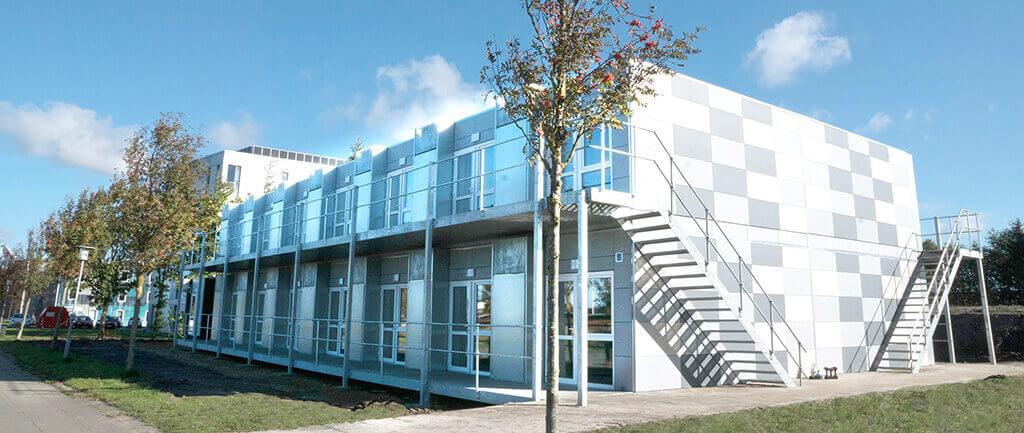 Pavilloner giver mulighed for komfortabel genhusning